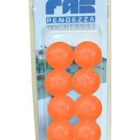 palline calcio balilla arancio blister