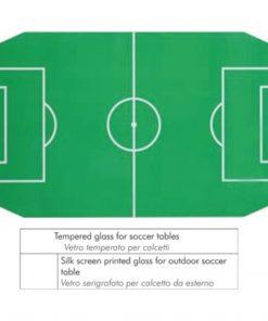 vetro serigrafato calcio balilla esterno