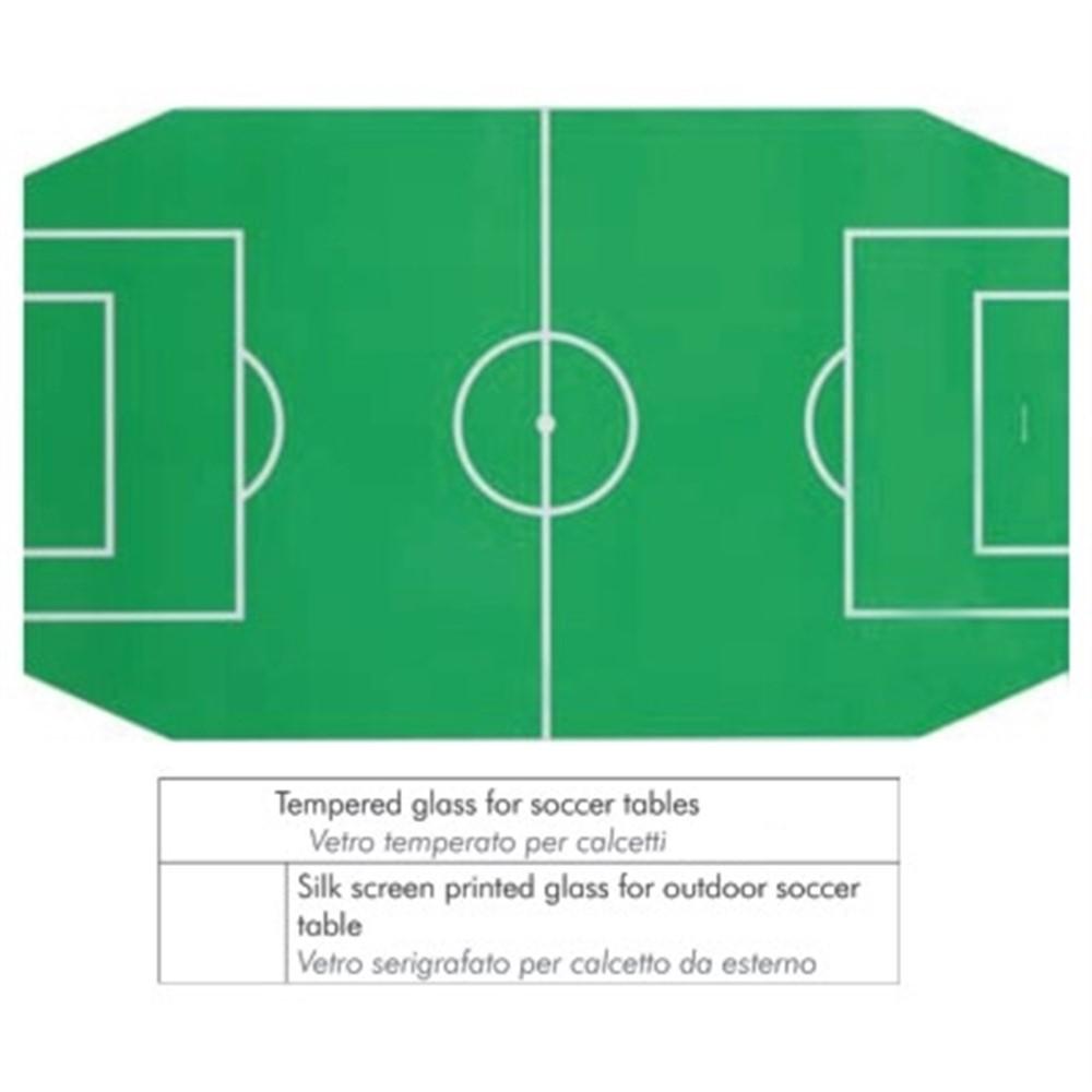 Vetro sagomato serigrafato per calcio balilla da esterno FAS - GA101 ... bcc6e64f8097