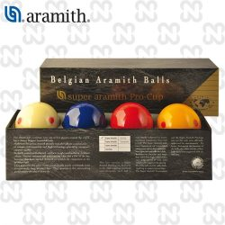 BILIE SET CARAMBOLA SUPER ARAMITH PRO-CUP 4 BILIE 615 mm