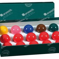 BILIE SET SNOOKER ARAMITH 413 mm