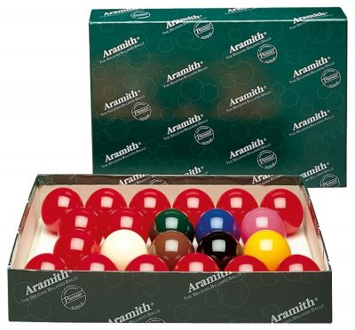 BILIE SET SNOOKER ARAMITH 572 mm - STD