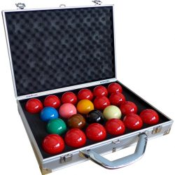 BILIE SET SNOOKER TOURNAMENT 1/16 CHAMPION SUPER PRO 1G (INCLUSA VALIGETTA)