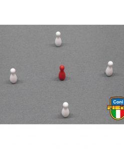 BIRILLI TORNITI SET h 25mm POLIESTERE MISURE FIBIS