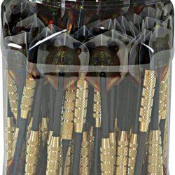 3 FRECCETTE DM 1/4-2BA BARATTOLO 100pz 16g CODA PLASTICA