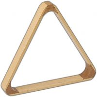 TRIANGOLO IN LEGNO PER PIRAMIDE RUSSA PER BILIE 68 mm