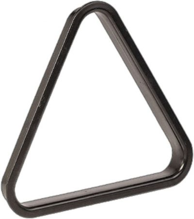 TRIANGOLO PLASTICA PER BILIE 54 mm NERO - SNOOKER